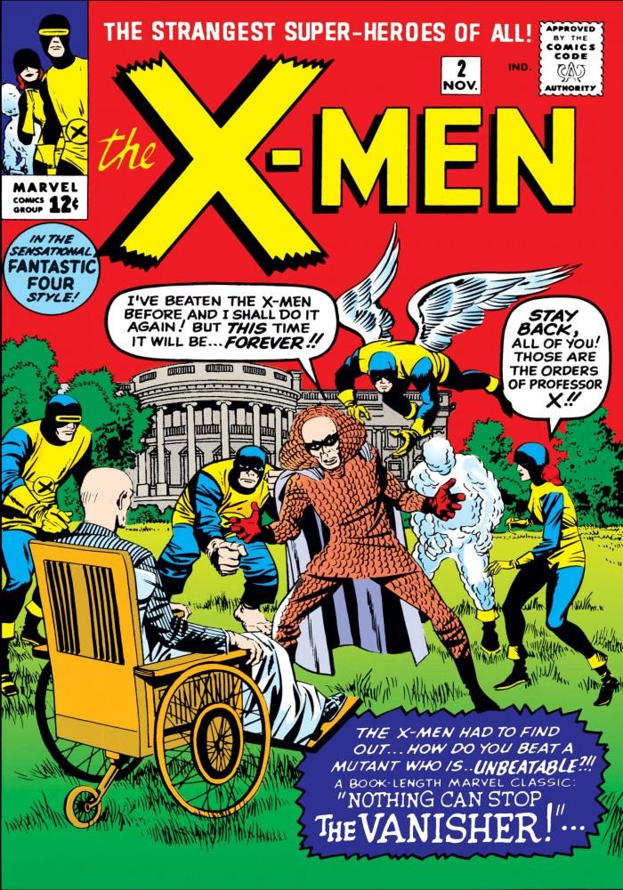 Capa de X-MEN #2, novembro de 1963. Imagem: Divulgação Marvel Comics.