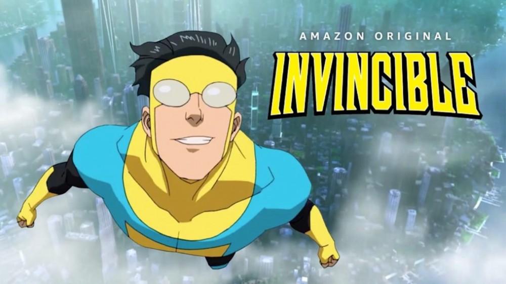 Invincible é a nova aposta do Prime Video. Imagem: Divulgação.