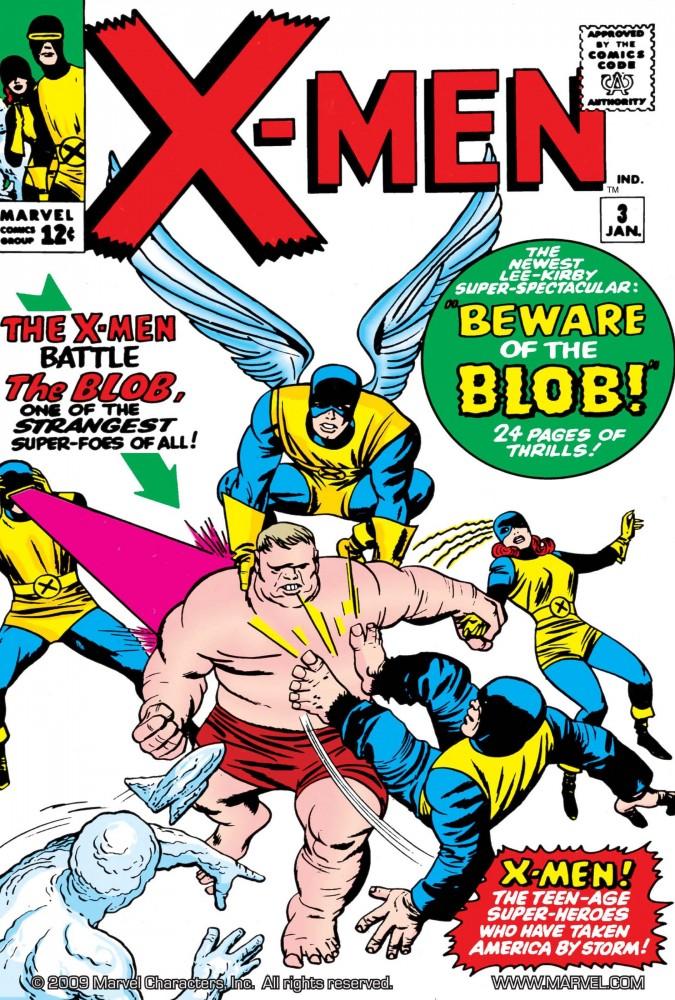 Capa de X-MEN #3, janeiro de 1964. Imagem: Divulgação Marvel Comics.