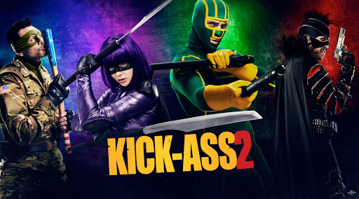 Kick-Ass 2 é um exemplo de como a pirataria não contribuiu com o futuro das franquias. Imagem: Divulgação.