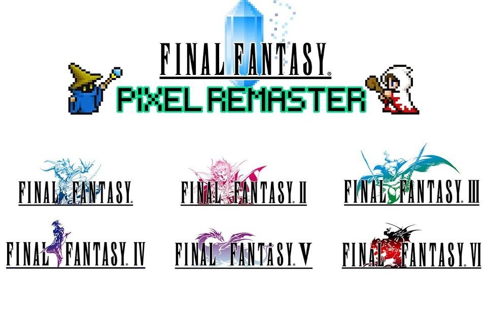 Clássicos de Final Fantasy receberão novos remasters!
