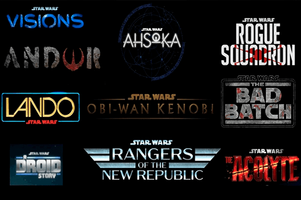 Confira todas as novas produções de Star Wars anunciadas pela Disney