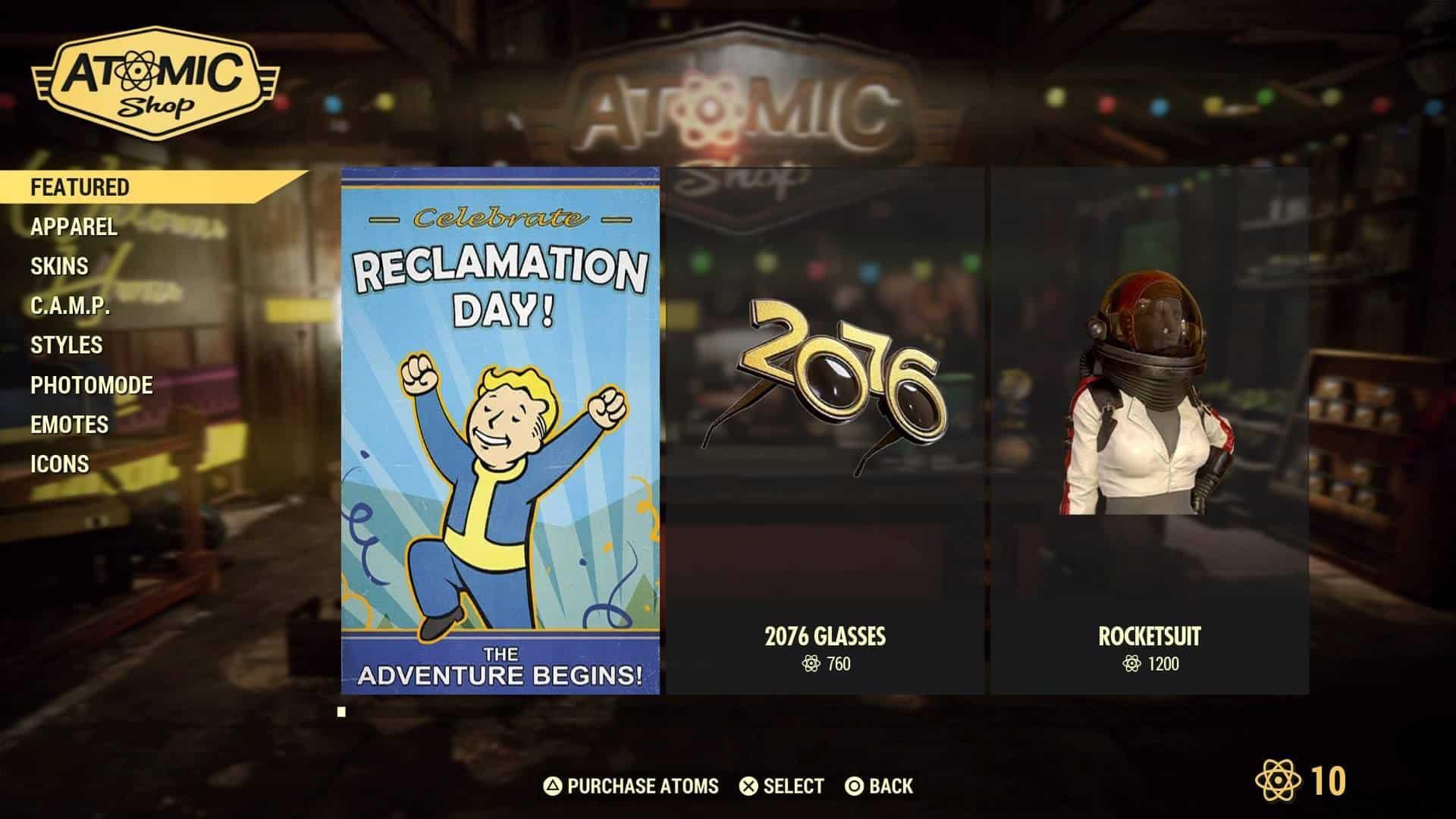 Bethesda quebra promessa e anuncia item não-cosmético para loja virtual de Fallout 76