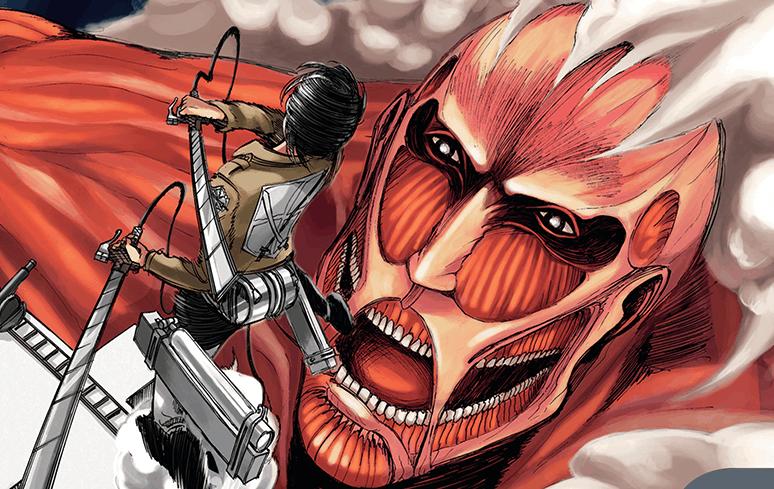 Mangá de Shingeki no Kyojin está muito próximo da sua conclusão