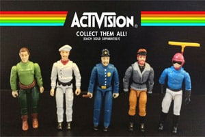 Actions Figures da época do Atari