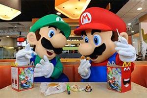 Super Mário e McDonalds juntos outra vez!