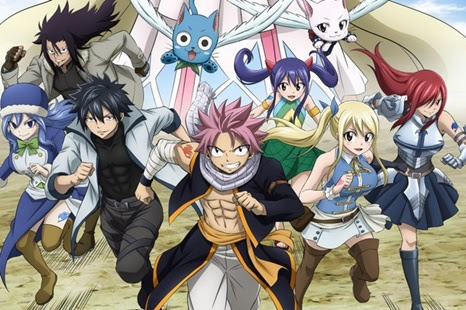 Fairy Tail dublado vai estrear no canal aberto da Loading