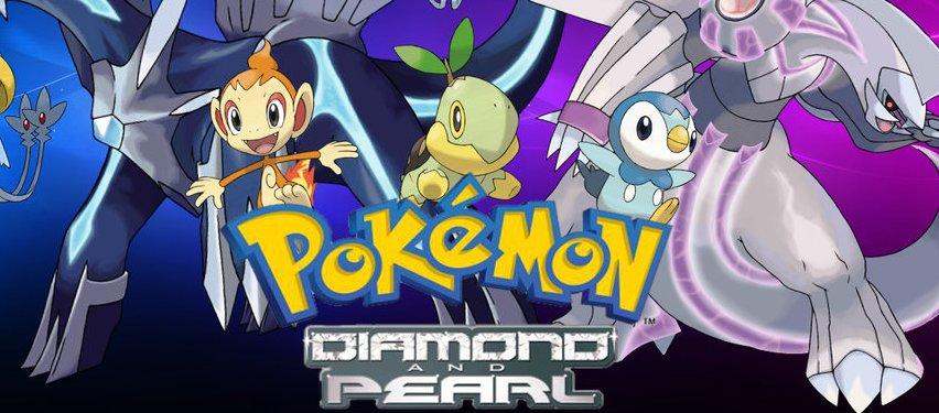 Descoberto suposto conteúdo removido em Pokémon Diamond and Pearl
