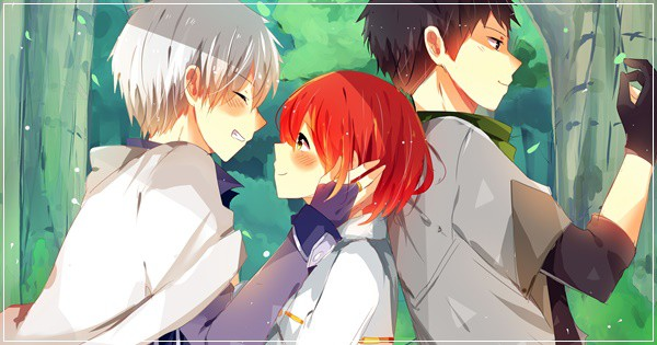 Akagami no Shirayuki-Hime... Amor entre classes sociais