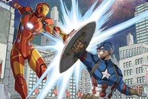Hiro Mashima desenha poster para Capitão América: Guerra Civil