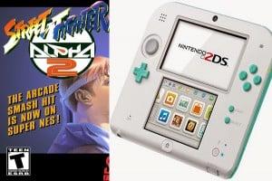 Nova cor do Nintendo 2DS e re-lançamento de Street Figther Alpha 2 são anunciados