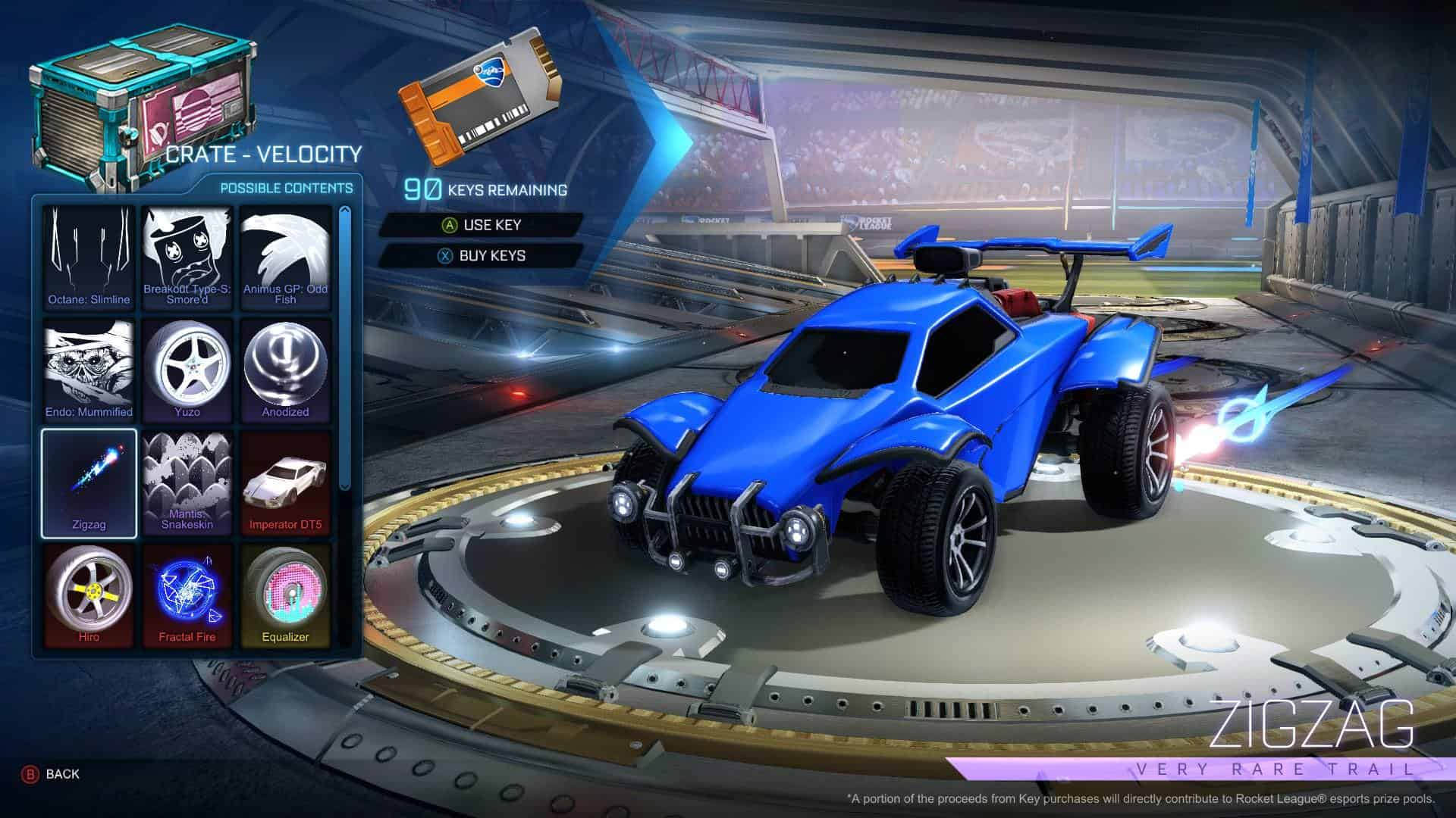 Psyonix anuncia fim do sistema de loot boxes em Rocket League