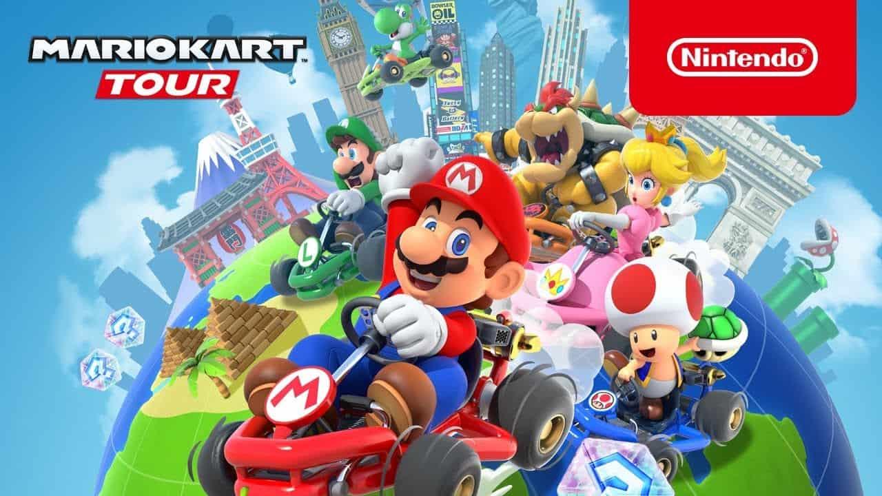 Nintendo revela data de lançamento de Mario Kart Tour!