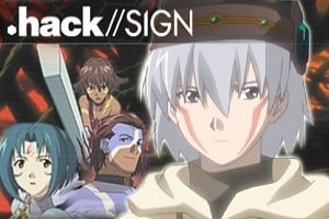 Animes com enredo focado em games (I) - .hack//SIGN