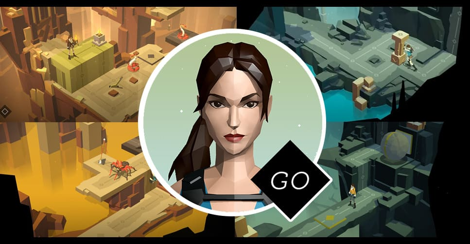 LARA CROFT GO chega ao Playstation 4 e PS Vita