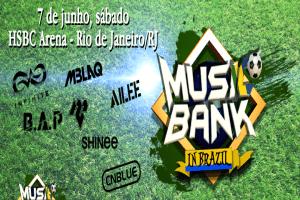 Pré Venda Adiada + Vídeos - Music Bank in Brazil