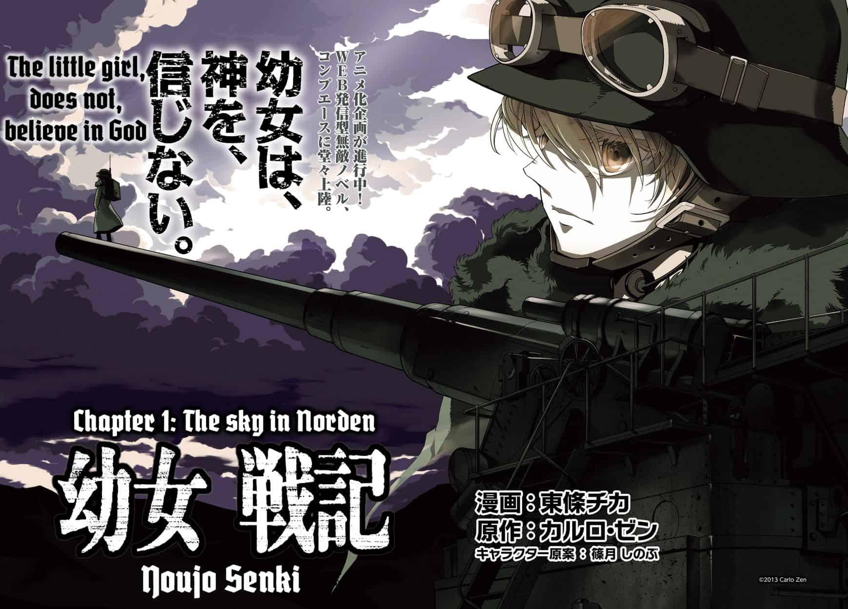Temporada de Inverno - Dicas III - Youjo Senki