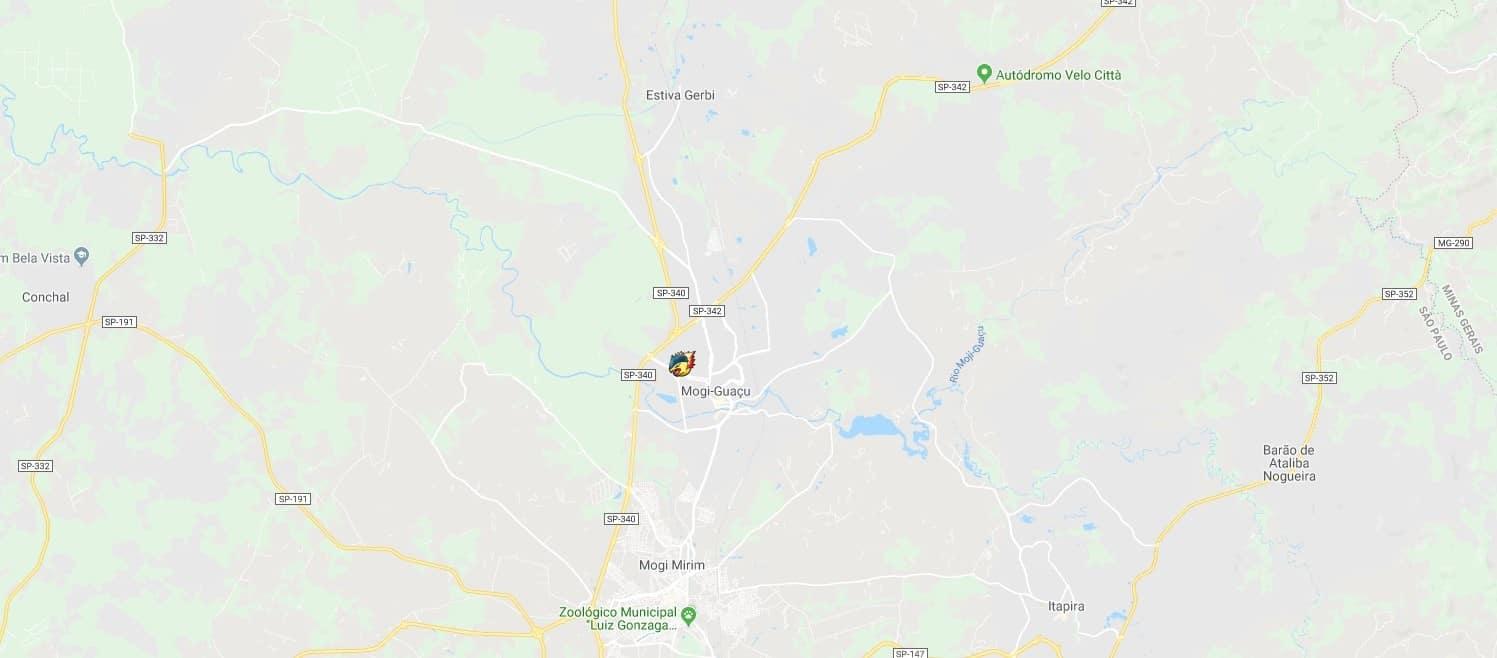 Fã brasileiro de Pokémon cria uma mapa para localizar jogadores