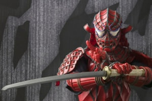 Empresa de action figures revela Homem-Aranha Samurai