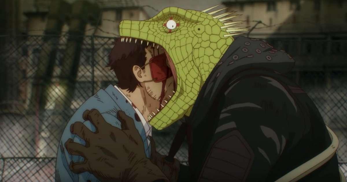 Dorohedoro é um anime divertido e peculiar da Netflix