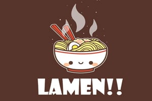Não é Miojo... é Lamen!