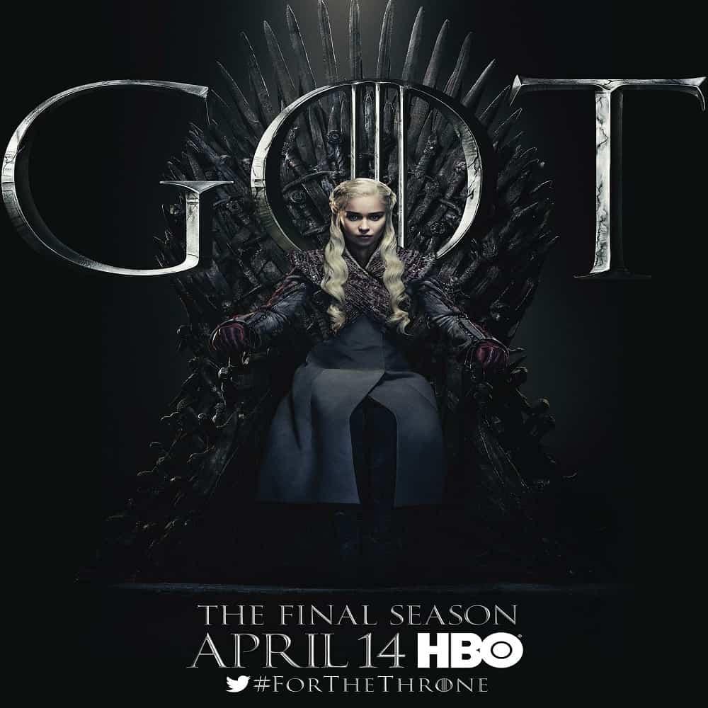 Game of Thrones: última temporada já tem data de estreia