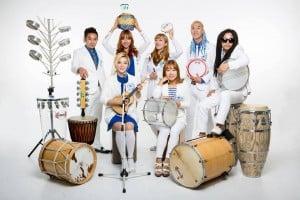 Banda de samba sul-coreana Rapercussion está no Brasil