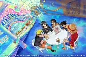Luffy, Naruto, Kirito, Conan e Eren se unem contra a pirataria