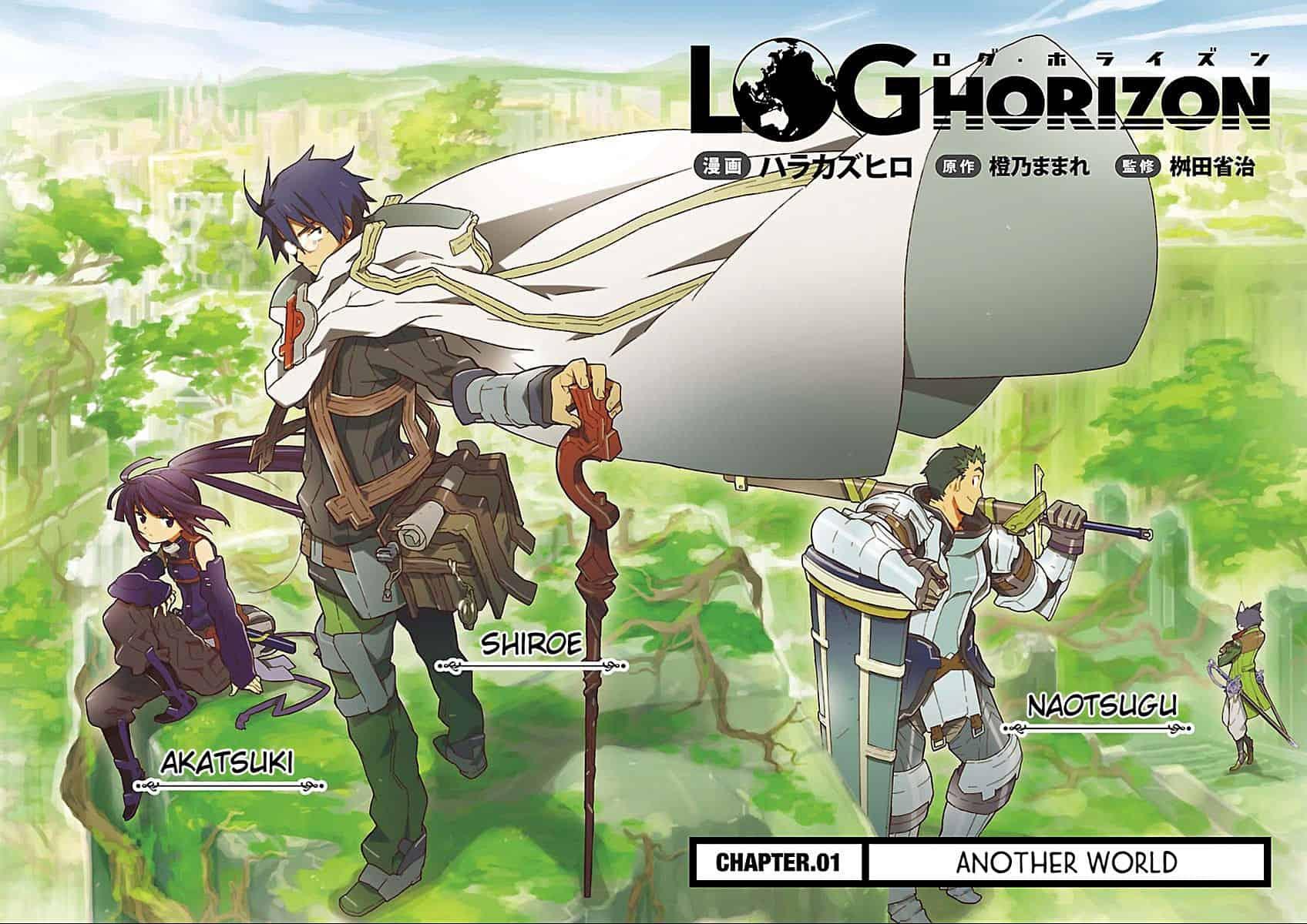 Log Horizon voltará a ser publicada pela editora NewPOP